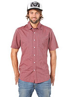 VOLCOM Why Factor Stripe S/S Shirt plum