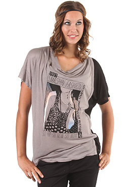 VOLCOM Womens 2 Choices Speciality S/S T-Shirt light brown