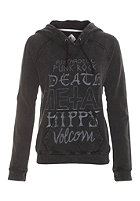 VOLCOM Womens Acid Vacay Hooded Zip Sweat black