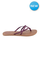 VOLCOM Womens All Day Long Sandals burgundy