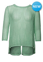 VOLCOM Womens All Meshed Up Sweat sea glass