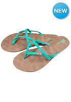 VOLCOM Womens All Night Long Sandal aqua