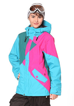 VOLCOM Womens Archers Insulated Jacket 2012 peacock