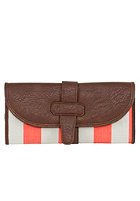 VOLCOM Womens Armed N Ready Wallet coral haze