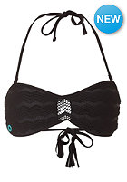 VOLCOM Womens Beat Street Bandeau Top black
