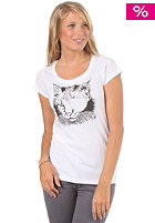 VOLCOM Womens Beautiful Chaos S/S T-Shirt white