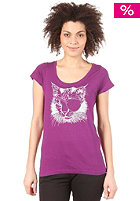 VOLCOM Womens Beautiful Chaos T-Shirt grape juice