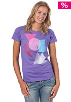 VOLCOM Womens Blinder S/S T-Shirt purple