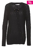 VOLCOM Womens Button It Cardigan black