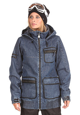 VOLCOM Womens Chapelle Insulated VBJ Jacket 2012 indigo