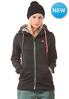 VOLCOM Womens Draw Fleece Hooded Zip Sweat black