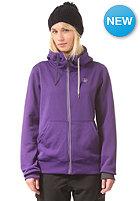 VOLCOM Womens Draw Hooded Zip Fleece violet