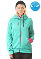 VOLCOM Womens Draw Hooded Zip Sweat island green