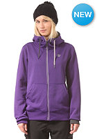 VOLCOM Womens Draw Hooded Zip Sweat violet