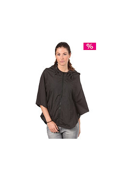 VOLCOM Womens Enemy Lines Poncho black