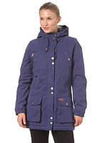VOLCOM Womens Every Day Parka Jacket 2013 blue ribbon