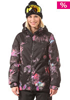 VOLCOM Womens Flint INS Jacket black print