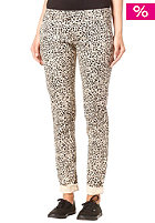 VOLCOM Womens Frochikie Matchstick Pant leopard