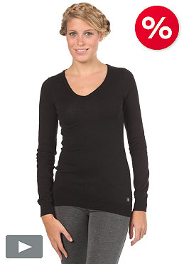 VOLCOM Womens Frochikie V-Neck Sweater black