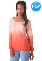 VOLCOM Womens Fun Dipped Sweat coral haze