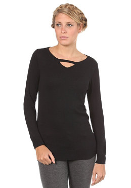 VOLCOM Womens Geo Fade Starlight Sweater black