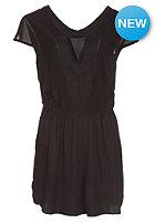 VOLCOM Womens Get In Line Romper Dress black