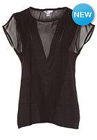 VOLCOM Womens Get In Line S/S T-Shirt black