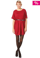 VOLCOM Womens Green Room Tunic Dress red