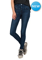 VOLCOM Womens High Waisted Skinny double down indigo