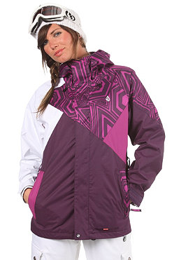 VOLCOM Womens Iconic Jacket 2012 shadow purple