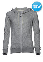 VOLCOM Womens Lived In Hooded Zip Sweat heather grey