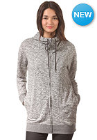 VOLCOM Womens Lived In Long Zip Sweat charcoal heather
