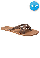 VOLCOM Womens Lookout Sandal vintage brown