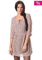 VOLCOM Womens Love Cliches Dress mauve print
