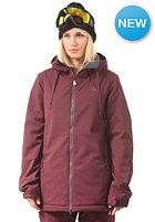 VOLCOM Womens Magnum INS Jacket burgundy