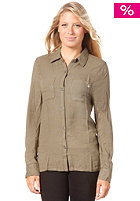 VOLCOM Womens Make Rock & Love Military Shirt burnt olive