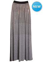 VOLCOM Womens Metalhead Maxi Skirt metalic silver