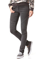 VOLCOM Womens Moto Super Stoned Skinny Denim Pant vintage black
