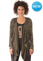 VOLCOM Womens Movin On Cardigan olive