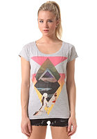 VOLCOM Womens Nature Calls S/S T-Shirt heather grey