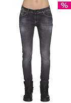 VOLCOM Womens Oily Skinny Jeans Pant washed black