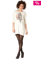 VOLCOM Womens Op Face Dress L/S Top old white