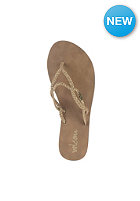 VOLCOM Womens Party Sandals gold