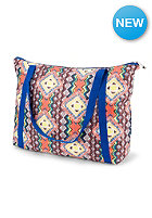 VOLCOM Womens Poolside Party Tote electric coral