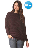 VOLCOM Womens Psych Knit Sweat mocha