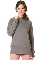 VOLCOM Womens Rebel Lined Hooded Sweat charcoal grey