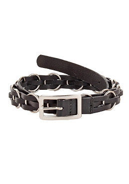VOLCOM Womens Roadie Leather Belt 2012 black