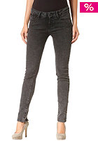 VOLCOM Womens Rock out Skinny acid wash black