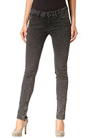 VOLCOM Womens Rock out Skinny Denim Pant acid wash black