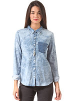 VOLCOM Womens Rolling High L/S Shirt indigo